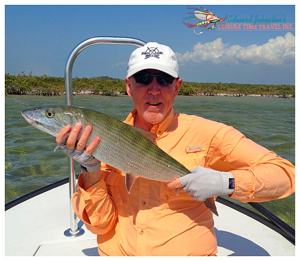 A very fine bonefish at Abaco Lodge - Great Abaco Island Bahamas