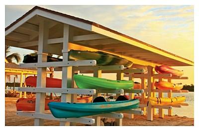 Deep Water Cay Club Bahamas : sea kayaks and paddleboards