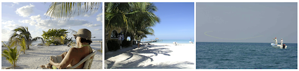 Copyright: Leisure Time Travel, Inc : Edward R. Johnston : No Right For Re-Use, Holbox Fly Fishing Lodge