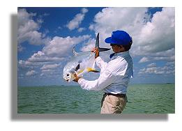 Edward Johnston with a nice permit from Ascension Bay