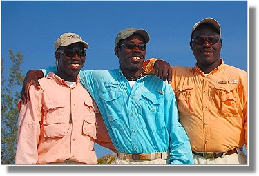 Grand Bahama Bonefishing : The Pinder Brothers