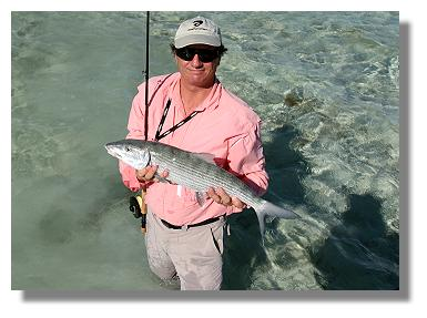 Edward Johnston at Mars Bay Bonefish Lodge