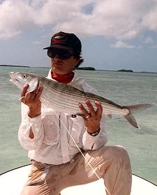 Edward R. Johnston with a nice Bonefish
