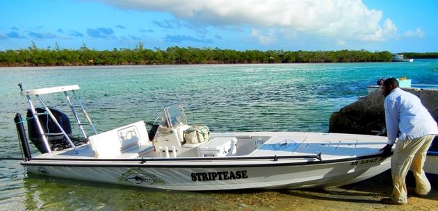 Black Fly Bonefish Lodge - Black Fly Lodge boat