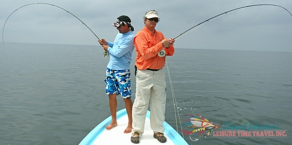 tarpon fishing Isla del Sabalo Lodge