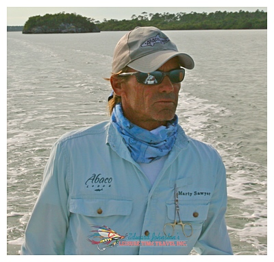 Marty Sawyer-  one of Great Abaco's legendary guides