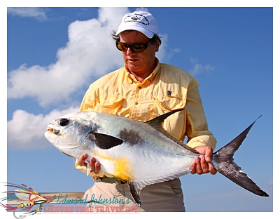 Turneffe Island Lodge : Edward Johnston with a fine permit