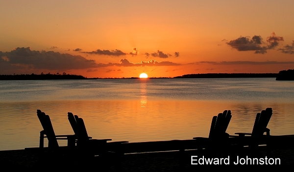 Great Abaco Island : Bahamas : Sunset at Abaco Bonefish Lodge
