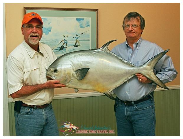 Dr. Rick Weisenburger giant permit, permit fishing
