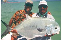 Ascension Bay permit : Dr. Rick & Augustin