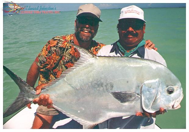 Ascension Bay permit : Dr. Rick & Augustin