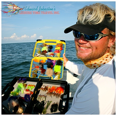 Capt. Dan Clymer fishing the flats of Homosassa