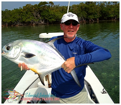 Flats fishing Belize