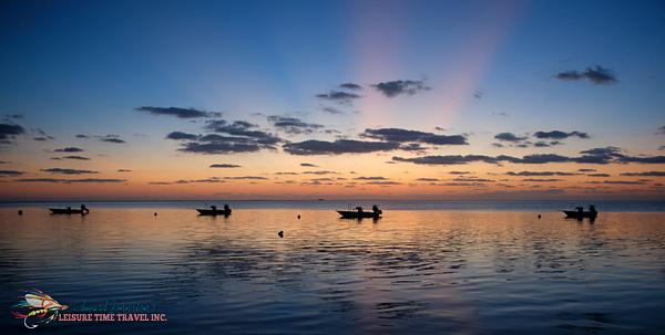 Sunrise at Bair's Lodge Bahamas