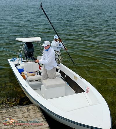 Campeche Tarpon Fishing Skiff, Campeche Tarpon Fishing Yucatan Program, Yucatan Baby Tarpon Fly Fishing