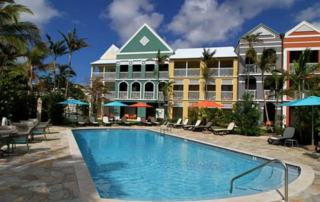 H2O Bonefishing hotel pool, Bahamas