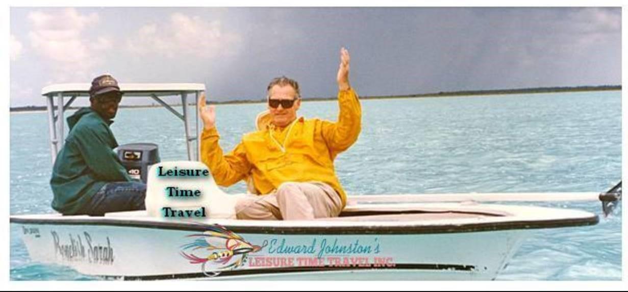 Ted Williams at Andros Island Bonefish Club